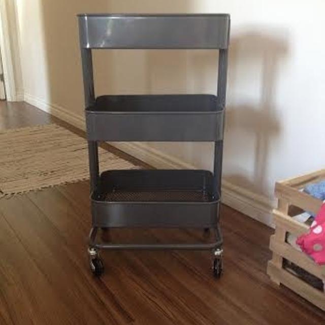 Find More Ikea R Skog Utility Cart Dark Gray Raskog For