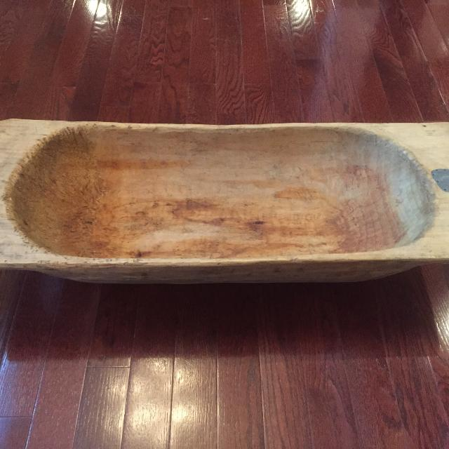Best Antique Dough Bowl New For In