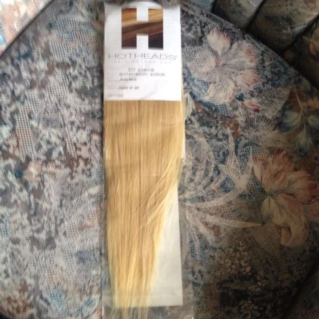 Find More Blonde 40 Piece Tape In Hot Head Hair Extensions 17 For