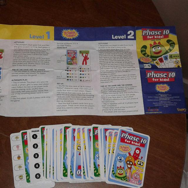 Best Phase 10 Card Game Winstructions For Sale In Metairie