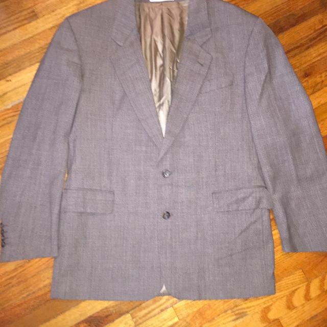 559eb62943b Best New Hugo Boss Saks Fifth Avenue Gray Brown Suit Jacket Coat Blazer 48  for sale in Lake Ozark, Missouri for 2019