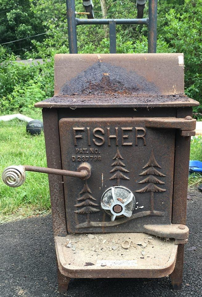 Find More Fisher Quot Baby Bear Quot Wood Stove For Sale At Up To