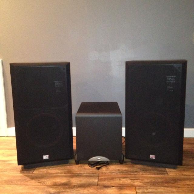 Klipsch Surround Sound >> Best Cerwin Vega Re 30 Series Surround Sound Speakers And Klipsch