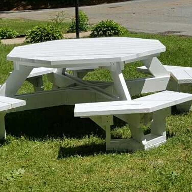 Best Octagon Picnic Table For Sale In Lowell Massachusetts For - Octagon picnic table for sale