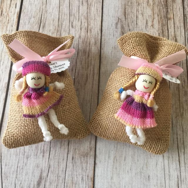 Find more Homemade Bath Salts Filled Baby Shower Burlap Favor Bags ...