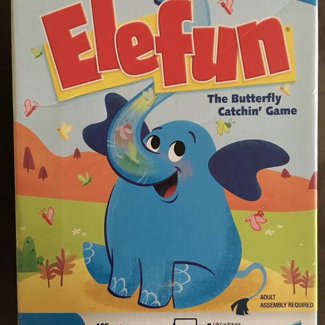 Elephant Butterfly Catch Game