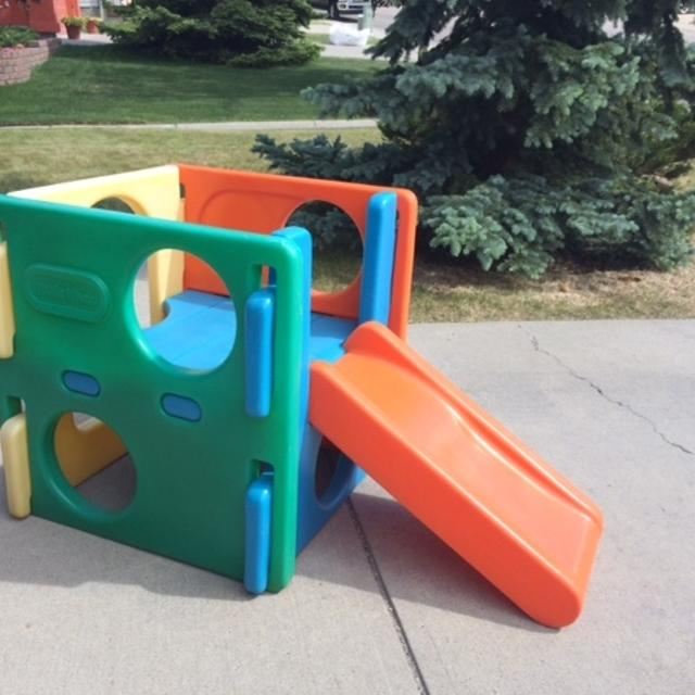 find more little tikes outdoor playset with slide for sale
