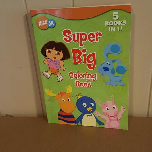 Super Big Coloring Book 5 Books in 1! Book Sale on My Page