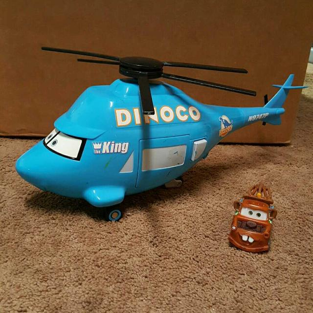 City Of Morton Illinois: Find More Dinoco Helicopter And Mater For Sale At Up To 90