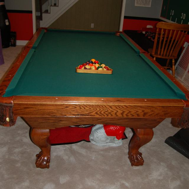 Best Proline Extended Foot Pool Table For Sale In Opelika Alabama - Proline pool table