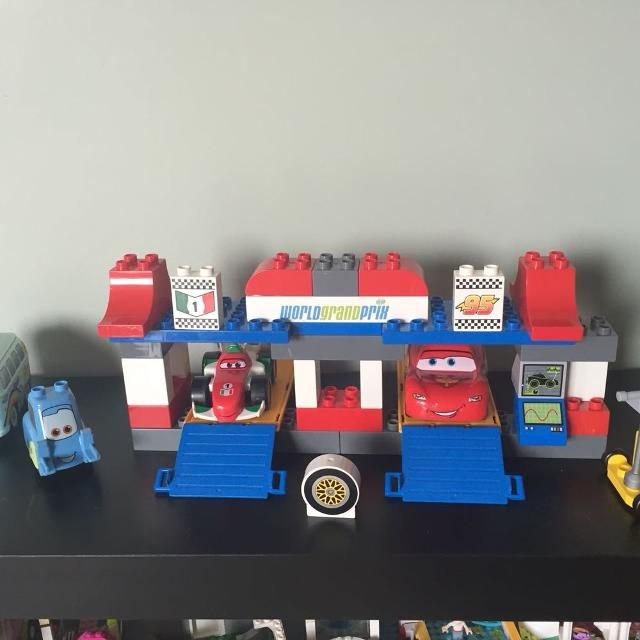 Find More Complete Lego Duplo Cars The Pit Stop With Instructions