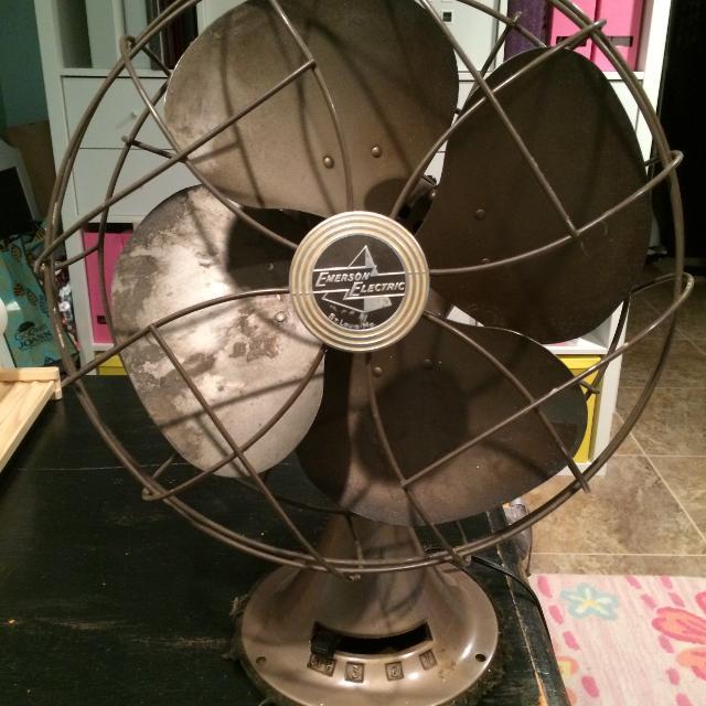 Best Vintage Emerson Electric 1950's Fan Saint Louis Mo for sale in St.  Joseph, Missouri for 2019