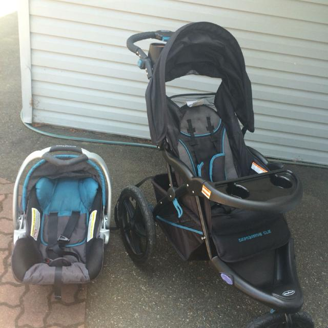 Find more Baby Trend Expedition Clx Stroller, Car Seat And Two Bases ...