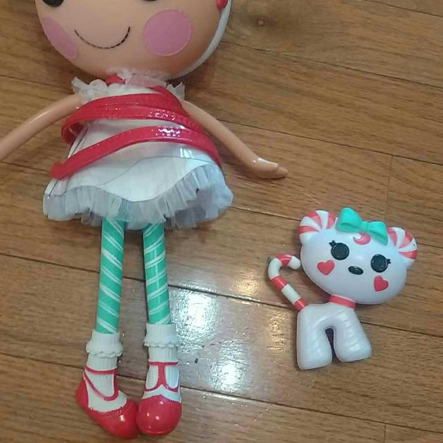 find more like new lalaloopsy peppermint patty doll and dog for sale