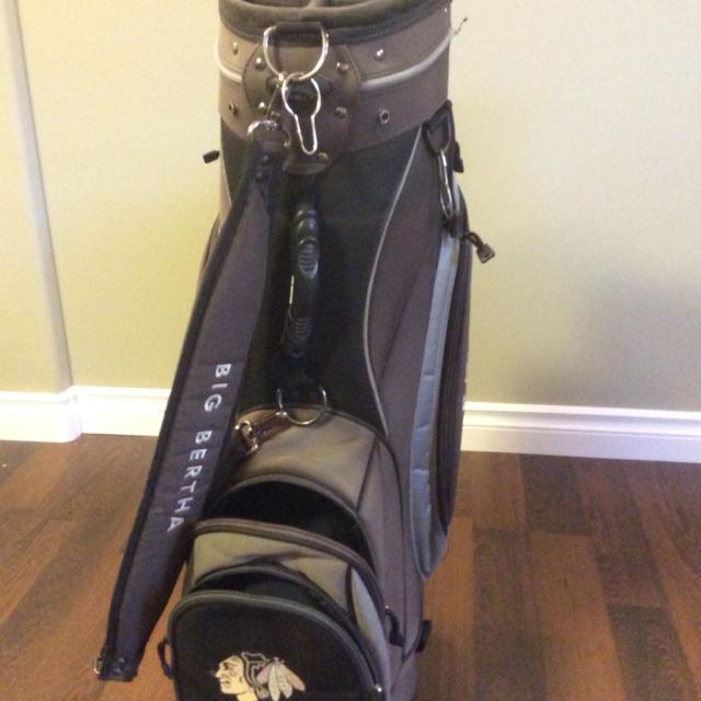 Chicago Blackhawks Golf Bag No Holds