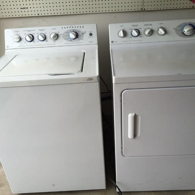 Ge Profile Prodigy Washer And Dryer For