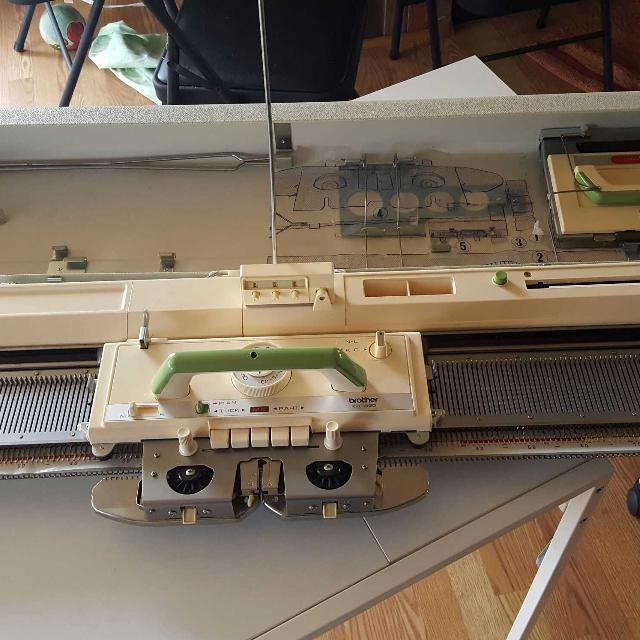 Knitting Machine For Sale Near Me : Best brother kh punch card knitting machine for sale
