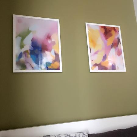Abstract art print set, used for sale  Canada