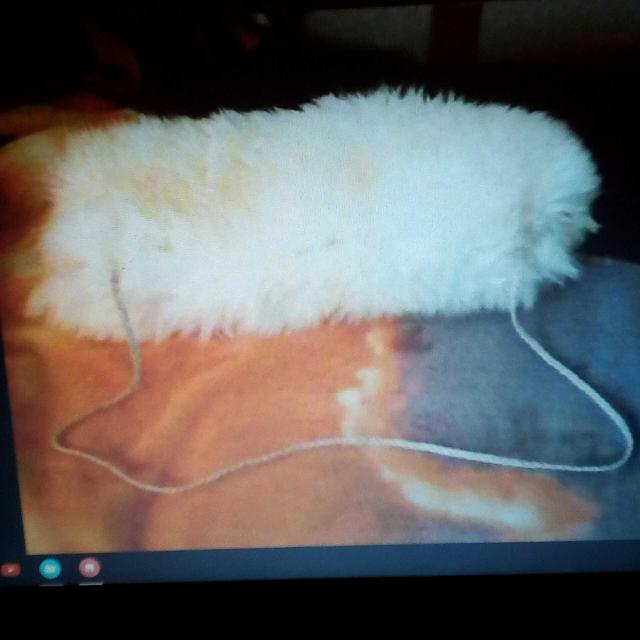 New White Mountain Goat Fur Archery Quiver