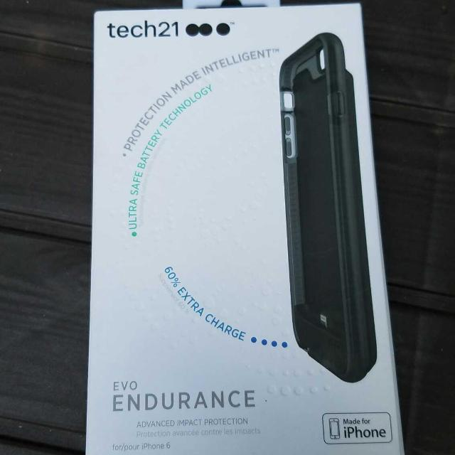factory authentic e4479 3e749 BRAND NEW Tech21 Evo Endurance iPhone 6 Charging Case!