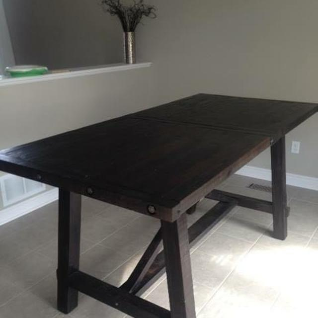 Urban Barn Ironside Counter Height Table