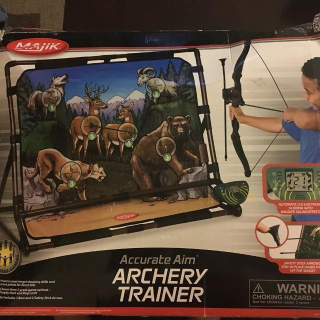 Malik accurate aim Archery trainer (reduced price)