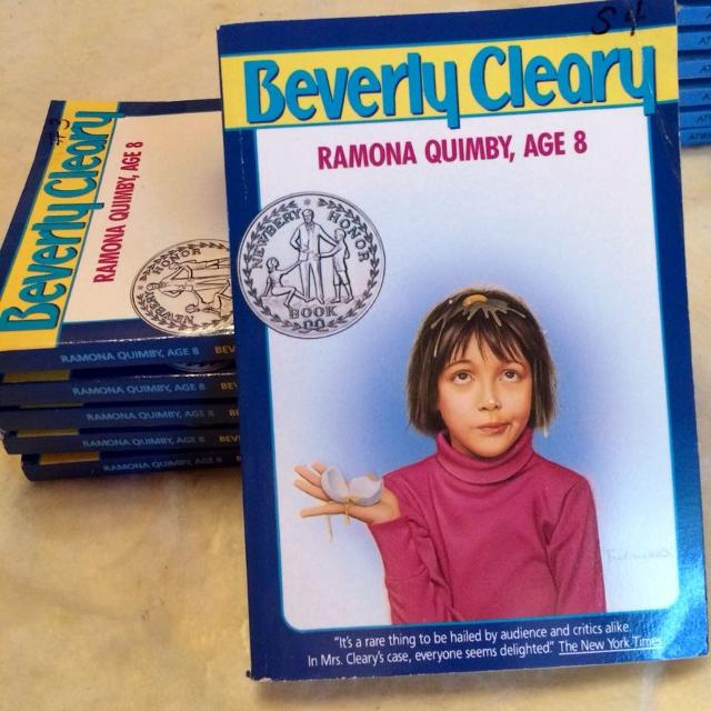 Set of 8 Ramona Quimby Books (multiple copies)