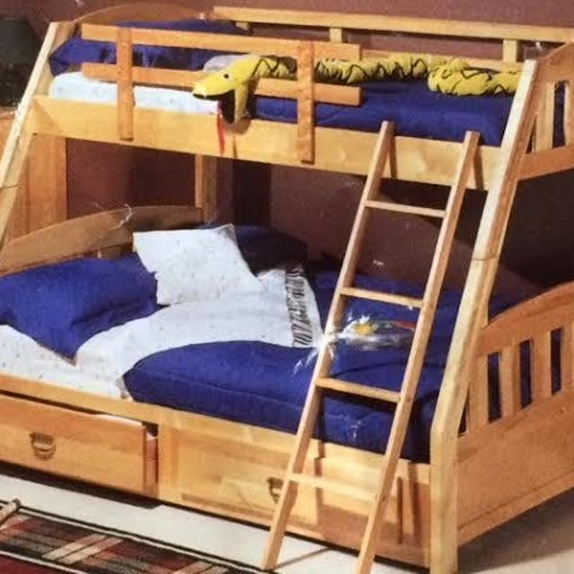 find more sears rancho twin over double bunk bed for sale at up to 90 off dollard des ormeaux qc. Black Bedroom Furniture Sets. Home Design Ideas