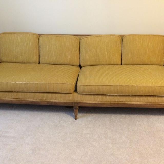 1950s Mid Century Vintage Drexel Sofa