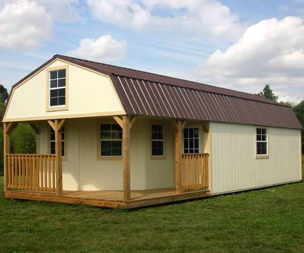 Best 16x40 Deluxe Lofted Barn Cabin for sale in Pocahontas ...