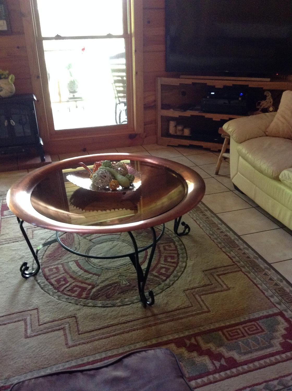 best copper table for sale in hattiesburg mississippi for 2019. Black Bedroom Furniture Sets. Home Design Ideas