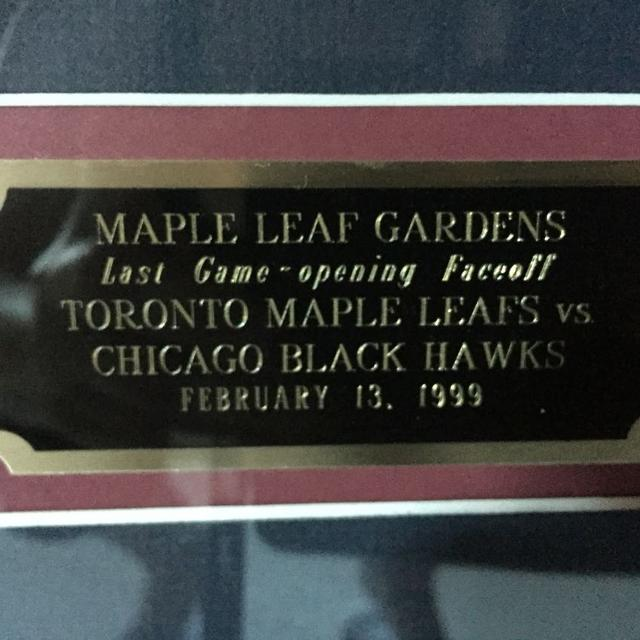 low priced 4544c 6cd66 Farewell Gardens/opening ACC. TOronto Maple Leafs