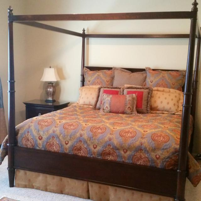Lane Gramercy Park Collection King Bed Frame