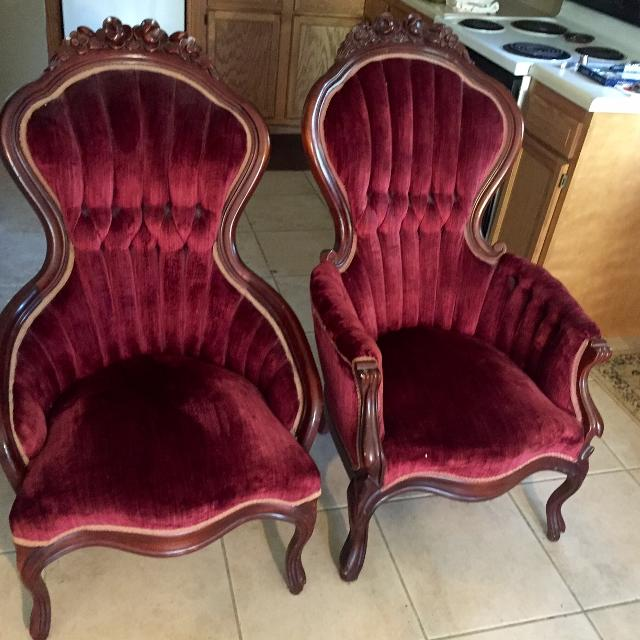 Antique Kimball Victorian Reproduction Arm Chair(s) - Find More Antique Kimball Victorian Reproduction Arm Chair(s) For