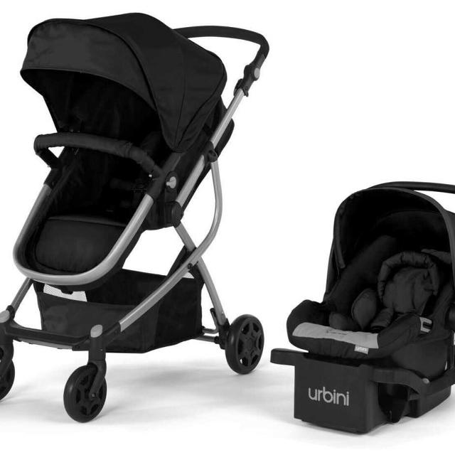 Urbini Car Seat With Base And Stroller