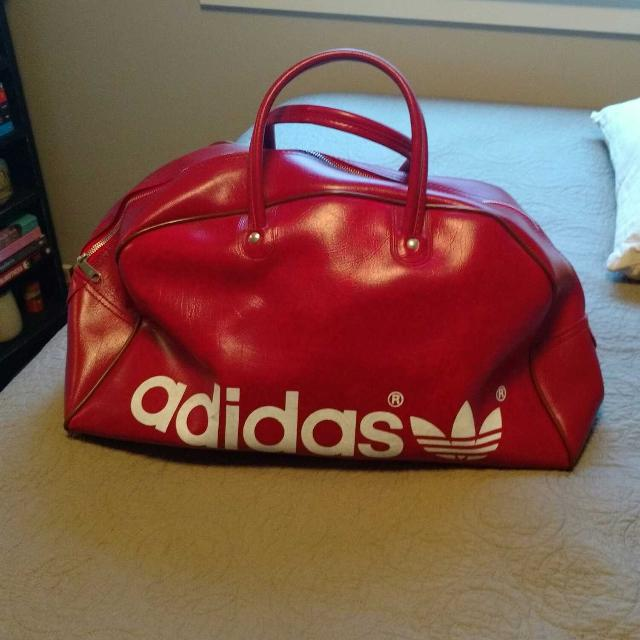 961c7da0e63b Find more Eeeeeuc Vintage Adidas Gym Bag for sale at up to 90% off