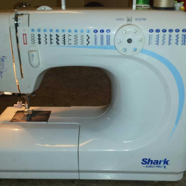 Best Shark Europro X 40 Stitch Sewing Machine For Sale In Wisconsin Extraordinary Shark By Euro Pro X Sewing Machine