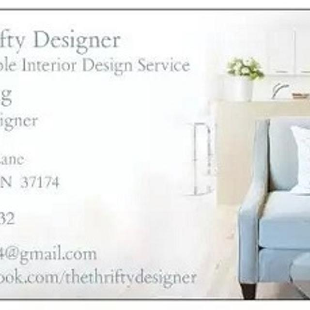 The Thrifty Designer An Affordable Interior Design Service
