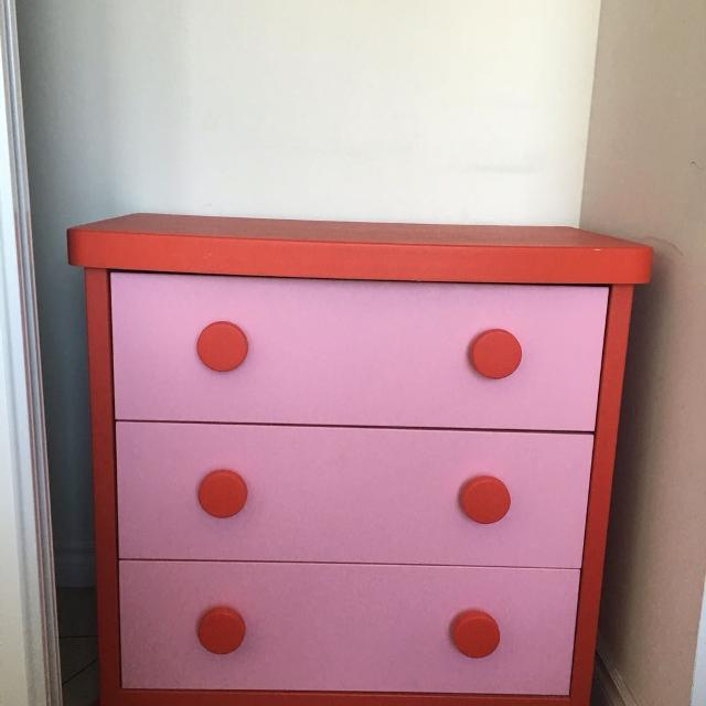 Find More Ikea Mammut 3 Drawers Dresser Pink Red For At Up. Ikea Mammut Dresser   Trend Dressers Designs
