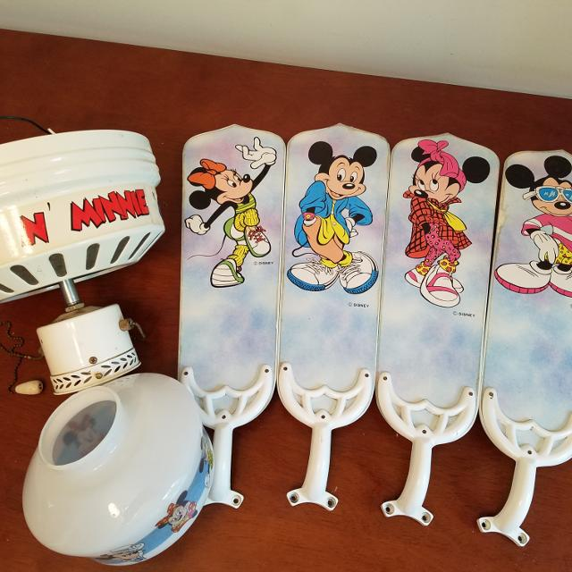 Best mickey minnie mouse ceiling fan for sale in minot north mickey minnie mouse ceiling fan aloadofball Images
