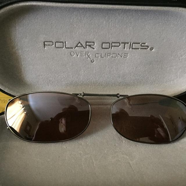 dcc0bfed053a5 Find more Polar Optics Overx Clipons Sunglasses for sale at up to 90 ...