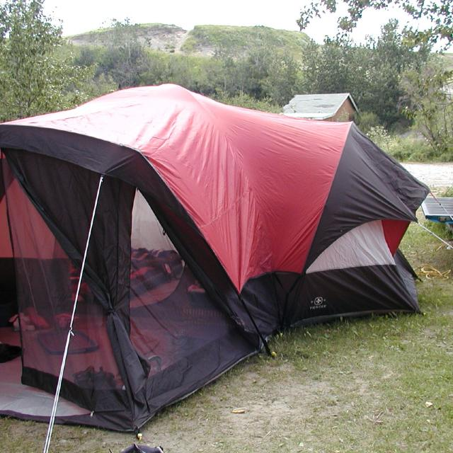 8 person swiss army tent