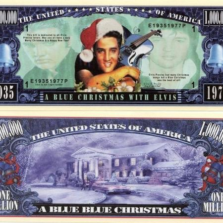 ELVIS BLUE CHRISTMAS NOVELTY MILLION... for sale  Canada