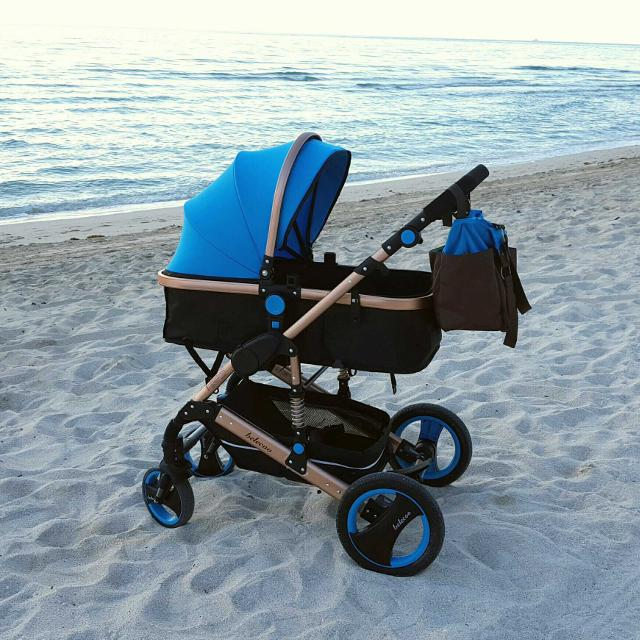 Olizee Belecoo Luxury 3 In 1 Stroller