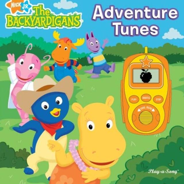 Find more Nick Jr. The Backyardigans Adventure Tunes Hardcover Play ...
