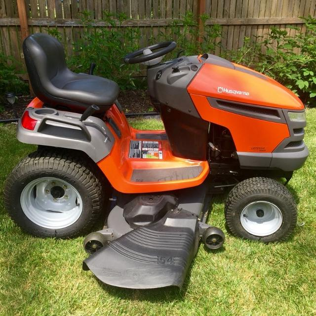 Hushavarna Lawn Tractor Hydrostatic Transmission : Find more husqvarna lawn tractor lgt quot deck in