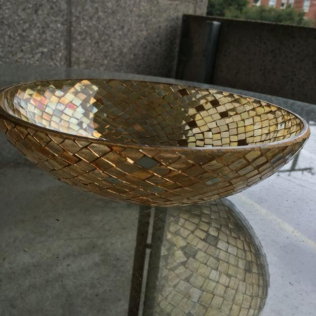 Find More Pier 40 Gold Decorative Bowl For Sale At Up To 40% Off Mesmerizing Pier 1 Decorative Bowls