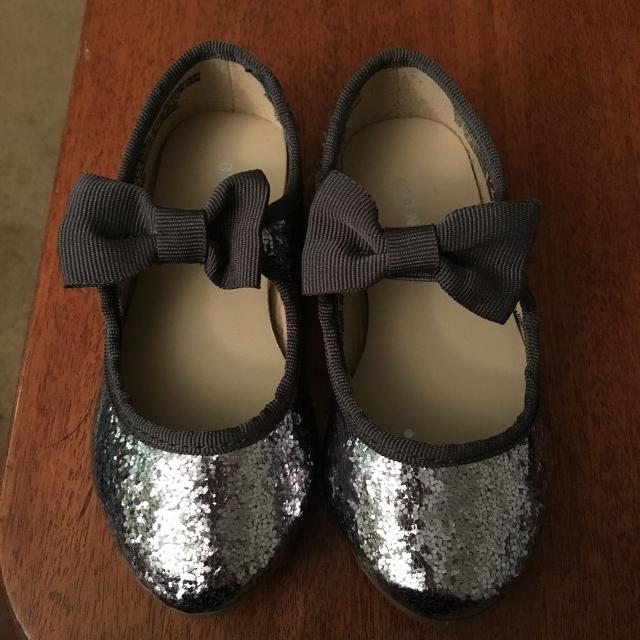 9572adeee464 Find more Dark Grey And Silver Sparkly Shoes. Nwot Pu Ladner for ...