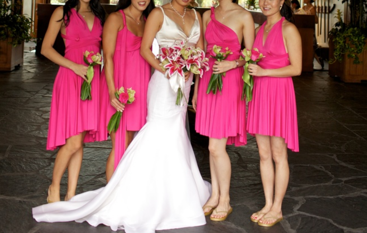 Best Henkaa Pink Convertible Dress Retail $155 for sale in Keswick ...
