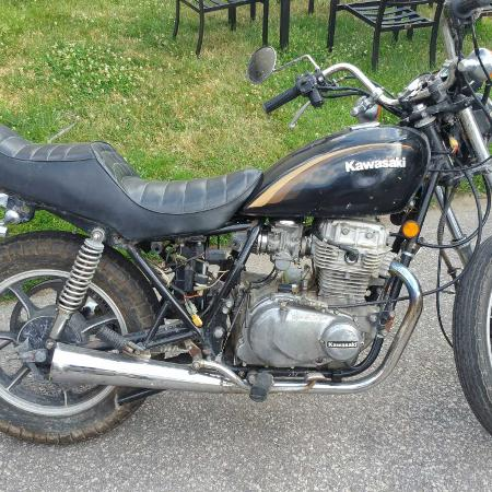 Kawasaki kz440 LTD belt driven, used for sale  Canada